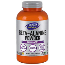 NOW Sports Nutrition, Beta Alanine Powder, 500 Grams