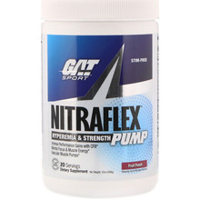 GAT, Nitraflex Pump, Fruit Punch, 20Svg, 10 oz (284 g)