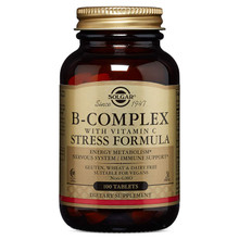 Solgar B-Complex with Vitamin C Stress Formula Tablets