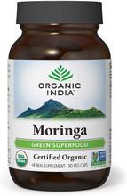 Organic India Moringa Capsules, 90 VEG CAPS