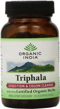 Organic India Triphala Capsules, 90 VEG CAPS