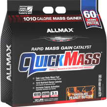 Allmax Quick Mass Chocolate Peanut Butter 12 lbs