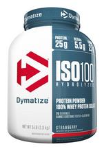 DYMATIZE ISO 100, STRAWBERRY 5LB