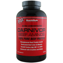 Musclemeds Carnivor Beef Amino, 300 Tablets