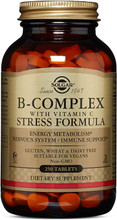 Solgar - B-Complex with Vitamin C, 250 Stress Formula Tablets