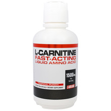 Labrada Nutrition, L-Carnitine Fast-Acting Liquid Amino Acid, Tropical Punch, 16 oz (473 ml)