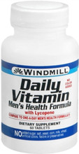 Windmill Daily Vitamin Tablets Men's Health Formula 60 Tablets