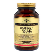 Solgar Double Strength Omega-3 700 Mg 60 Softgels