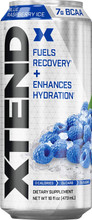 Scivation Xtend Carbonated RTD, Blue Raspberry Ice, 16 Oz