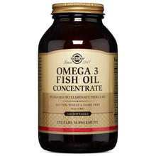 Solgar – Omega-3 Fish Oil Concentrate, 120 Softgels
