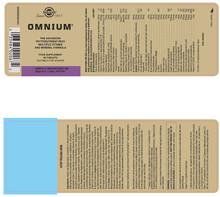Solgar – Omnium Phytonutrient, 90 Tablets