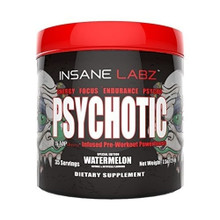 Insane labz Psychotic Pre-Workout Watermelon 214 gm