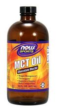 Now Foods, Sports, MCT Oil, Chocolate Mocha, 16 fl oz (473 ml)
