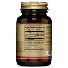 Solgar – Zinc 50 mg, 100 Tablets