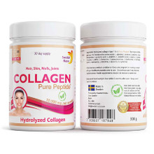 Swedish Nutra Collagen 10000 Powder Pure Peptide Hydrolyzed