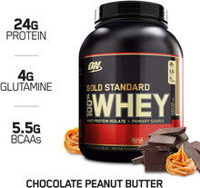 Optimum Nutrition 100% Whey Gold STD 5LB Chocolate Peanut Butter