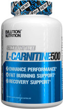 EVLUTION NUTRITION L-Carnitine 500, 60 Capsules