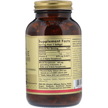 Solgar, Naturally Sourced Vitamin E, 1000 IU, 100 Softgels