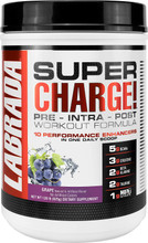 LABRADA NUTRITION Super Charge Pre - Grape, 625 Gram