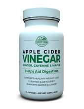 Country Farms Apple Cider Vinegar, 500 MG, 90 Capsules