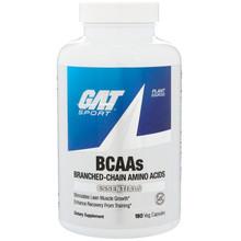 GAT, BCAAs, 180 Veg Capsules