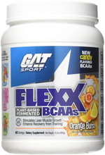 GAT Flexx Bcaa Orange Burst, 60 Servings, 690 Gram