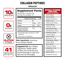 Labrada Collagen Peptides, Unflavored, 1lb