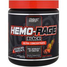 NUTREX, HEMO RAGE BLACK FRUIT PUNCH, 255 GM