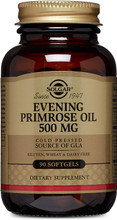 Solgar Evening Primrose Oil Supplement, 500 mg, 90 softgels