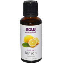 Now Foods, Essential Oils, Lemon, 1 fl oz