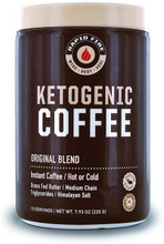 Rapid Fire Ketogenic Fair Trade Instant Keto Coffee Mix, 7.93 oz.