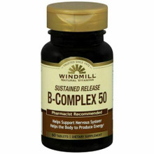 Windmill Sustained Release B-complex Tablets 60 tabs
