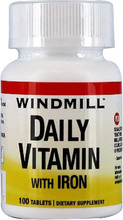 Windmill Daily Vitamin Tablets With Iron 100 Tablets