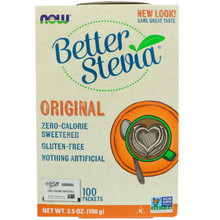Now Foods, Organic Better Stevia, Original, 100 Packets