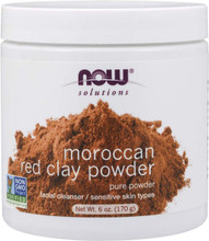 NOW Solutions Moroccon Red Clay Powder 6 fl oz