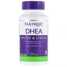 Natrol, DHEA, 25 mg, 180 Tablets