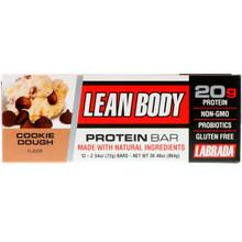 Labrada Nutrition, Lean Body Protein Bar, Cookie Dough, 72g