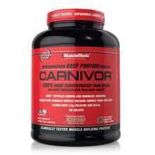 Musclemeds Carnivor Beef protein Isolate chocolate 4.5 LB