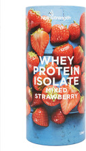 Nutri Strength Whey Protein Isolate Powder, Mixed Strawberry, 1 Kg