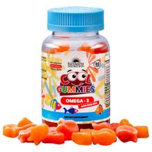 Sunshine Nutrition Cool Gummies Omega3 DHA/EPA, 60 Gummies