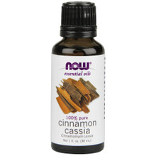 Now Essential Oils, Cinnamon Cassia Oil, 1 Oz
