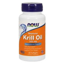 NOW Neptune Krill Oil 500 Mg 60 Softgels