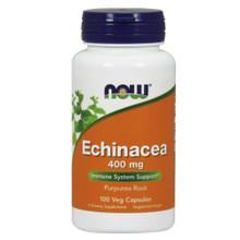 NOW - Echinacea 400 mg 100 Veg Capsules