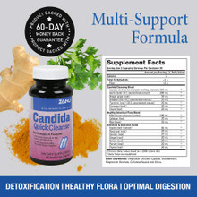 Zand Candida Quick Cleanse 60 Capsules