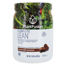 Plant Fusion, Complete Lean Plant Protein Chocolate Brownie - 14.8 Oz