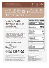 Navitas Organics Cacao Nibs, 8 oz.