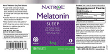 Natrol Melatonin Sleep 3 mg 100 Tablets
