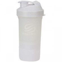 SMARTSHAKE 2GO 600 ml - NEON WHITE
