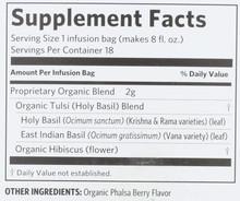 Organic India, Tea Tulsi Infusion Hibiscus, 18 Count