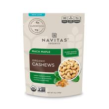 Navitas Organics Maca Maple Cashews, 4 oz.